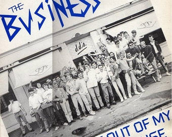 Business, The    Get Out Of My House  LP