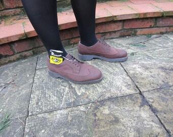 Dr Marten Brown lace up shoe