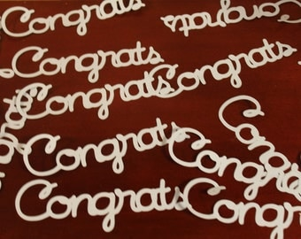 Congrats Confetti- Set of 50