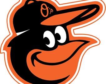 Baltimore Orioles Decals