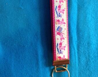 Piglet (Winnie The Pooh) wristlet key fob keychain
