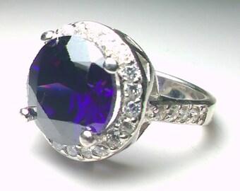 Ring, Silver Ring, Sterling Silver Ring, , Ring Size 6 , 20643