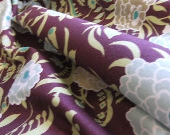 Amy Butler Gypsy Caravan Gypsy Mum - Wine Quilting / Dressmaking Fabric