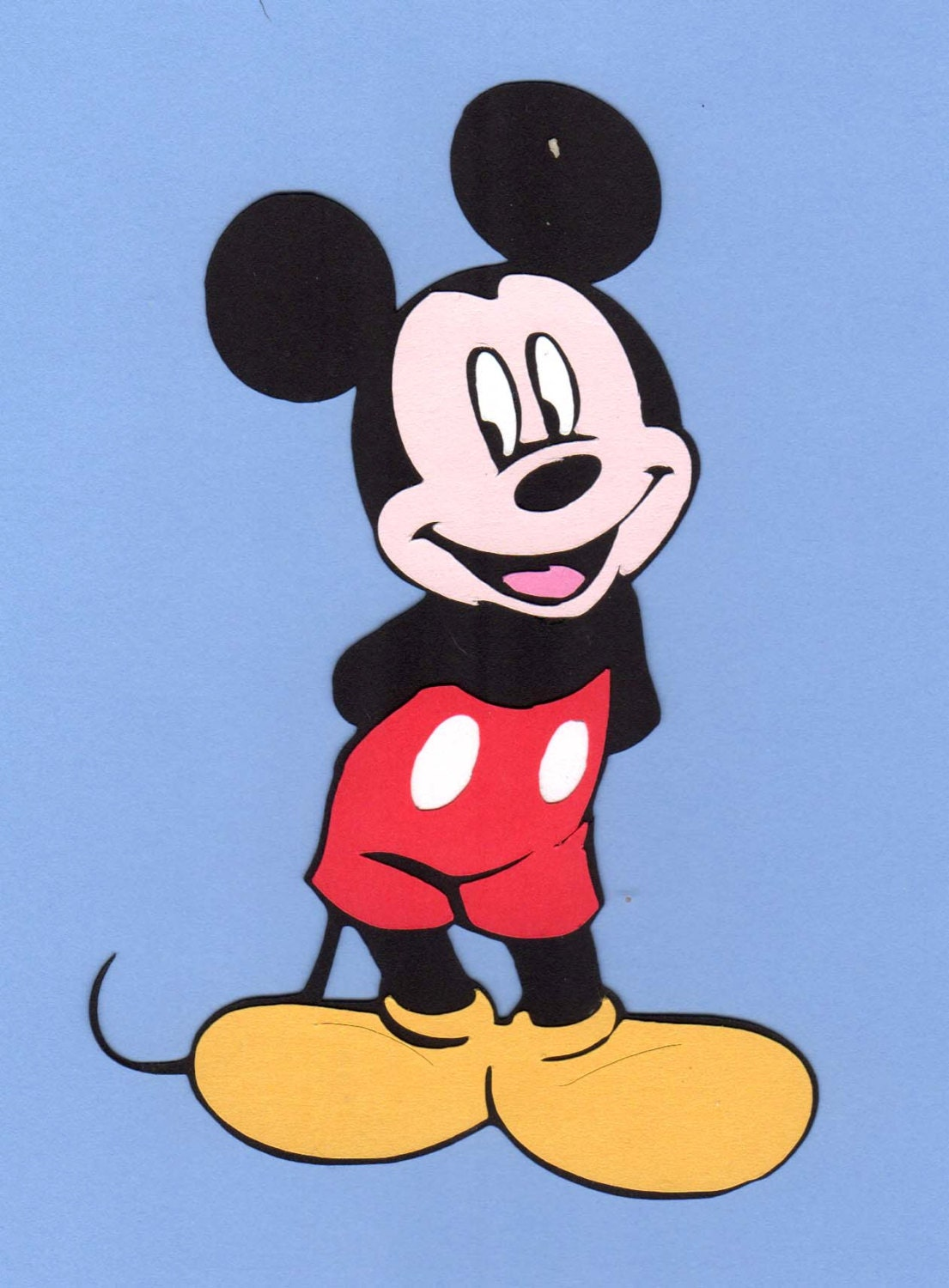 mickey mouse cut s - photo #14