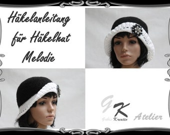 Crochet Pattern for Hat Melodie
