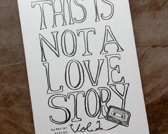 Love Story Comics Vol. 1 - Mini Comic (First Printing)