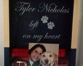 Pet Memorial Engraved Shadow Box - Pet Bereavement - Bereavement Gift - Pet Shadow Box - Pet Memorial - Dog Bereavement - Cat Bereavement