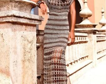 Cleopatra dress crocheted