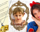Snow White Magic Pack: personalized letters+ pictures+ Disney princess necklace in your mailbox. Free shipping. Perfect birthday present