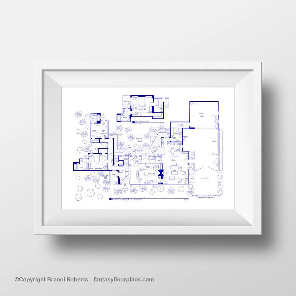 two and half men house floor plan tv show floor plan