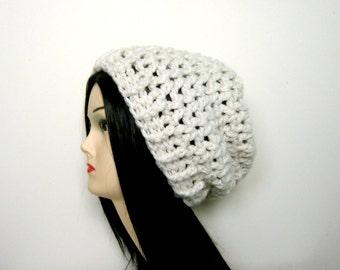 CROCHET HAT PATTERN, Crochet Slouchy, Slouch Hat Pattern, Crochet Pattern, Slouchy Hat, Womens Slouch, Instant Download - The Robin Slouchy