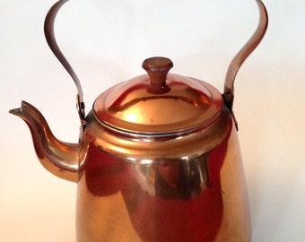 Vinage Copper Teapot