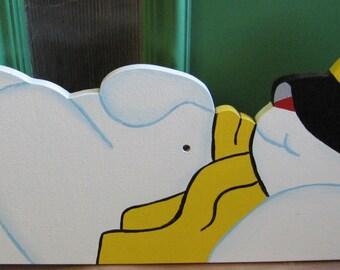 Sleeping  Snowman
