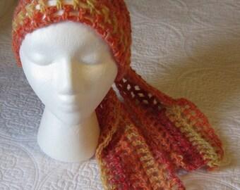 Crochet Gypsy Headscarf/Headwrap Simple and Elegant Ready to Ship!