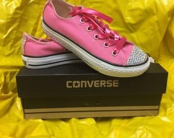 Embellished Pink Chucks