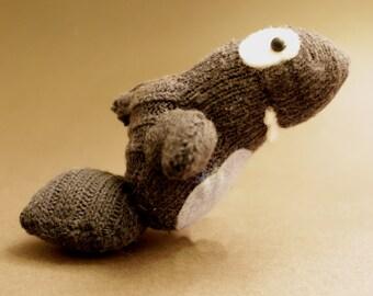 Sharky, Cute beanie shark, sock puppet