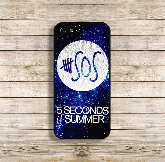 sos phone case sos iphone case 5 seconds of summer for iphone 4 4s iphone 5 5s galaxy s3 galaxy s4. Black Bedroom Furniture Sets. Home Design Ideas