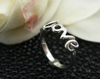 Toe ring ,925,sterling,silver,rhodium,plated,+,gift, box,