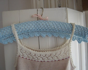 Knitting Pattern Lace Coathangers : KNITTING PATTERN FOR A COAT HANGER   KNITTING PATTERN