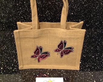 Butterfly Jute Bag