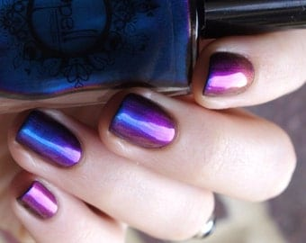 SPELL POLISH Magichromes™: Magic Happens ~Unchartered Waters~ multichrome nail polish!