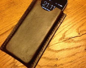 iPhone 5/4s leather sleeve