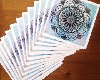 Sacred Geometry Mandala - Print