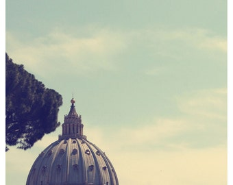 Vatican City photograph, fine art photo print, landscape, nature, travel, vatican, rome, italy