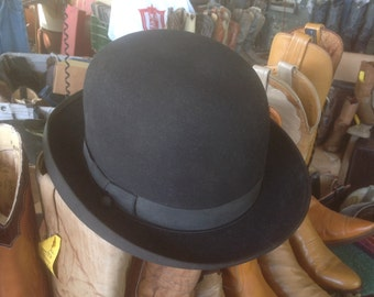 Vintage Royal DeLuxe Stetson Derby sz. 7 1/8 very good condition