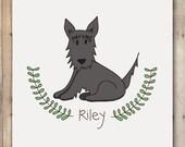 Custom Illustration of a Pet