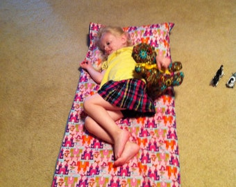 Nap Mat Cover with or without Attached Pillow