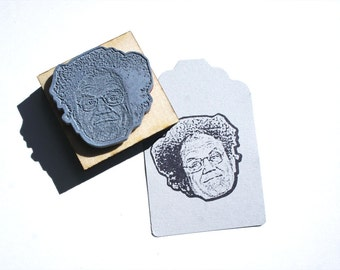 Check it out! Dr. Steve Brule Face Stamp -  Free Shipping in Canada!