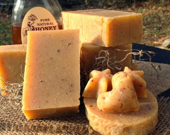 Honey Eucalyptus natural bar soap