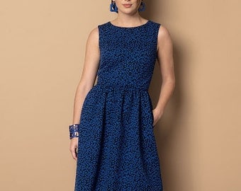 Butterick Sewing Pattern B6086 Misses' High-Low Hem Dresses