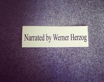 Etsy your place to buy and sell all things handmade for Werner herzog t shirt