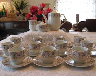 Vintage Bavaria Schumann Arzberg Germany Coffee/Tea set