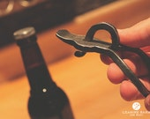 Personalized Hand-Forged Bottle Opener