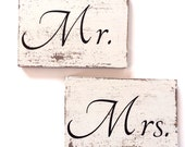 Mr. And Mrs. Sign, wedding signs, reserved seat sign, wedding decoration
