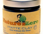 Matte Clay - styling clay, natural hair styling products, hair styling products, hair wax, mens grooming, mens hair styling