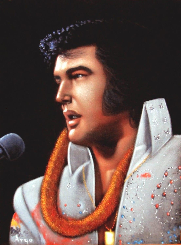 Elvis Oil Painting Uk