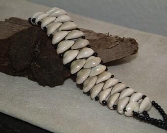 African Cowrie Shell Bracelet