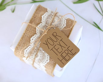 Custom favor tags, wedding favor tag, personalized tag, bridal shower tags, thank you tags, gift tag, product tag, etsy shop tag