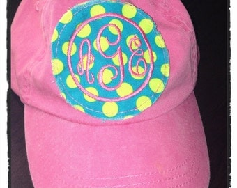 Patch Monogrammed Childrens Hat