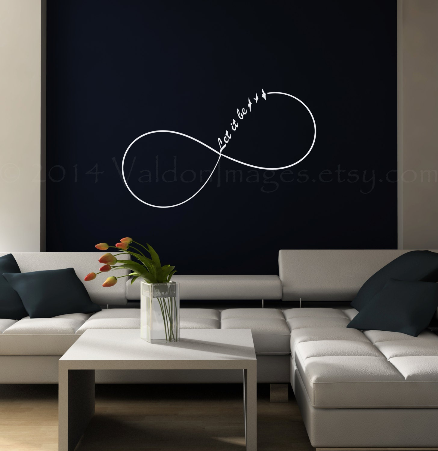 Wall decals for teens teens can make their mark without for Room decor wall