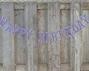 Happy Birthday Banner, Happy Birthday Sign, Happy Birthday, Birthday Banner