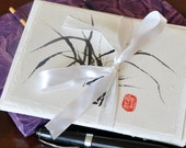 Set of 8 Chinese Brush Painted Greeting Cards