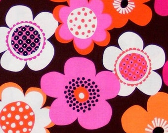 100% premium cotton fabric by the yard, modern floral by fabric designer Paula Prass for Michael Miller. Need more fabric yardage? Just ask