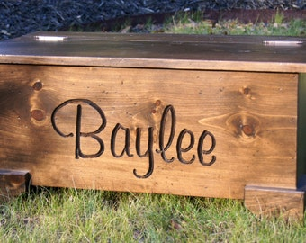 Toy Chest/Toy box/ Personalized/hope chest/ Chest/ Baby Toy /Gift/