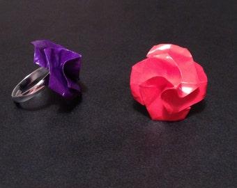 Origami Flower Ring