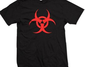 Biohazard T-Shirt Hazardous Material Shirt Tee